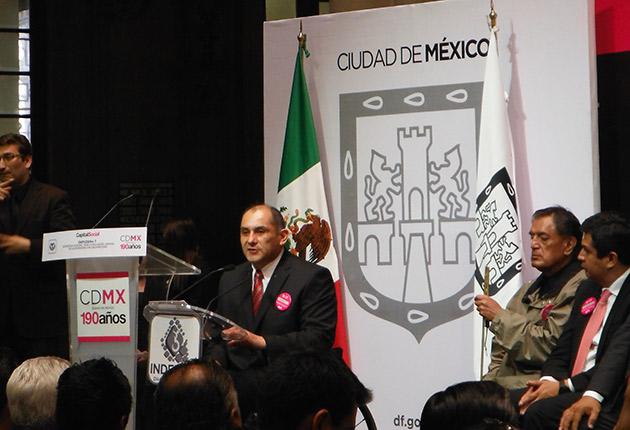Director general del INDEPEDI Ing. Fidel Perez de León