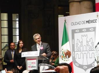 Jefe de Gobierno del Distrito Dr. Federal Miguel Ángel Mancera