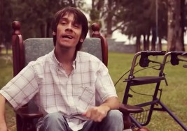 A Cristian Deppeler su parálisis cerebral no le impide romper barreras
