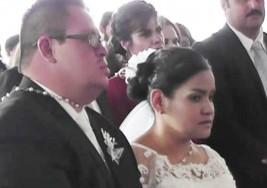 Mujer rompe tabú y se casa con hombre con síndrome de Down