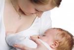 Madre amamentando a su bebé
