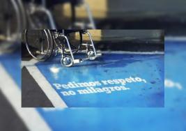 Las personas con discapacidad piden respeto no milagro