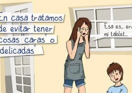 Con dibujos: así explica una mamá qué es el autismo