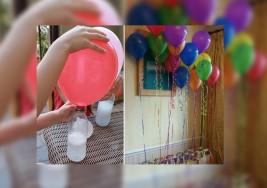 Manualidades: Como inflar un globo sin helio