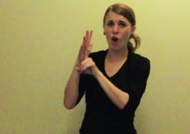 ¿Quién dijo que los sordos no pueden cantar? Chica 'rapea' con las manos