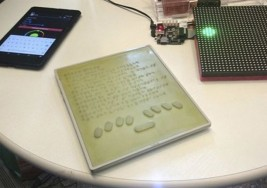 Blitab, la primera tablet con texto en braille para ciegos