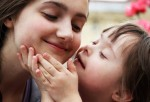 Madre con su hija con Síndrome de Down