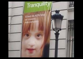 Aborto. Usan la foto de una niña con síndrome de Down para promocionar el test prenatal