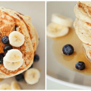 Pancakes de platano.