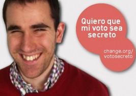 Colectivos de ciegos protestan por la falta de voto secreto