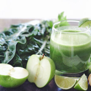 Alimentos ricos en clorofila.
