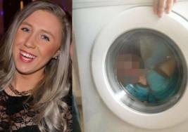 Denunciada por meter a su hijo con síndrome de Down dentro de la lavadora