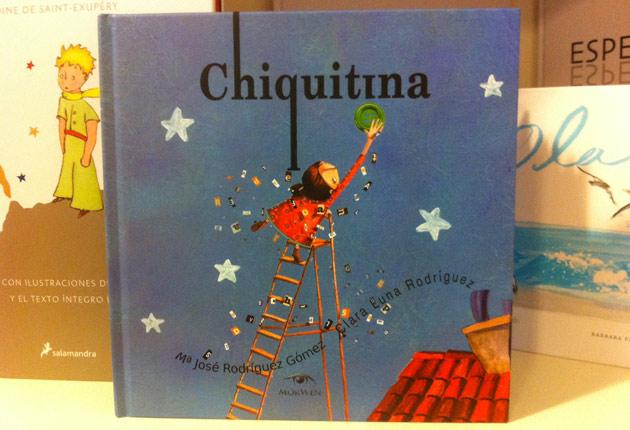 'Chiquitina', un cuento para enseñar a los niños a quererse tal y como son