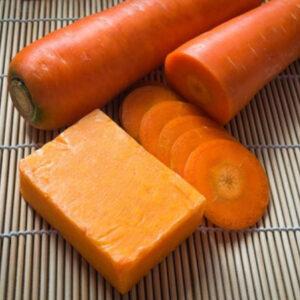Jabon de zanahoria.