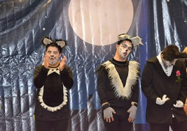 Jóvenes con Síndrome de Down interpretan el musical Cats en Querétaro