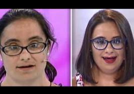 Una joven con Síndrome de Down emociona al público