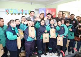 Estudiantes con síndrome de down de la escuela especial San Miguel Arcángel celebraron el día del niño