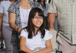 Alumna con parálisis cerebral del Plantel 5 pone el ejemplo a jóvenes