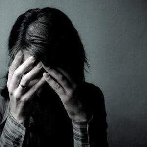 Persona con depresión,