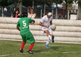 La integración ganó el partido de fútbol con jugadores ciegos