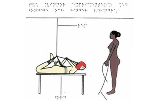 "LIBRO: ""Braille porno"" para ciegos"