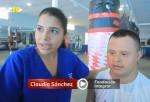 Boxeador con síndrome de Down.