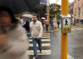 """Semáforos para ciegos y una calle en homenaje a """"Gonchi"""""""