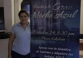 "Apadrinan a un niño con autismo en ""Noche Azul"""