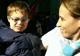 """María, madre de un niño con síndrome de Down: """"Es el mejor regalo de mi vida"""""""