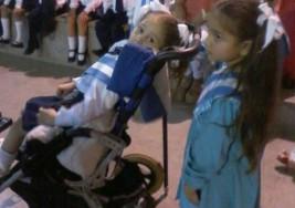 Padece de parálisis cerebral, pero egresó del Nivel Inicial