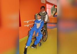 Dedicada a su hijo tiene parálisis cerebral infantil