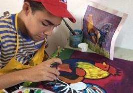 Los trazos del autismo en un lienzo