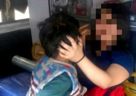 Rescatan a niño con síndrome de Down abandonado en incendio en Iztacalco