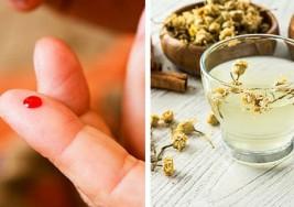 Bebida de manzanilla y canela para controlar los niveles de azúcar en la sangre