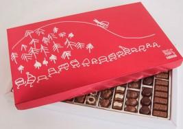 Creativos con síndrome de Down diseñan la caja de bombones de Nestlé de Navidad