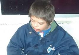Encuentran a niño con síndrome de Down extraviado