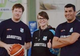 Los Topos, la selección argentina de básquet de sordos, se prepara para el Preolímpico de Canadá