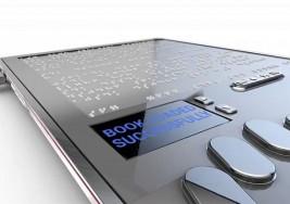 Primer prototipo de tablet para ciegos
