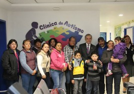 Gobierno inaugura la primera clínica de autismo de la Ciudad de México