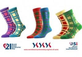"""""""Montones de medias"""", la campaña de la ONU en el Día Mundial del Síndrome de Down"""
