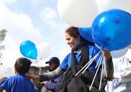 Una marcha para evidenciar el autismo