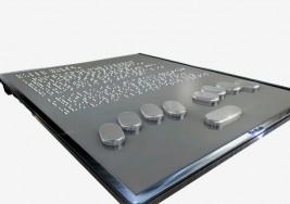 Crean una tablet para ciegos que reproduce el braille