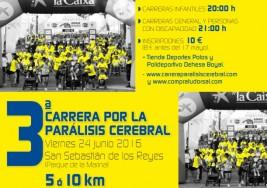 La III Carrera por la Parálisis Cerebral de ASPACE Madrid ya está en marcha