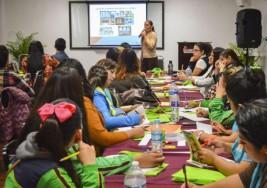 Imparten taller sobre autismo