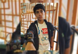 Adolescente usa su ingenio para ayudar a ciegos
