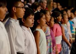 Cancún tiene un coro de niños y niñas con sordera ¿lo has visto?