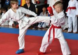En Ucránia practican karate para combatir estereotipos sobre el síndrome de Down