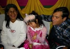 Por una campaña de Facebook una chica con síndrome de down pudo festejar sus 15 años
