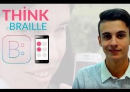 Tiene 22 años y creó una App para que los ciegos puedan chatear