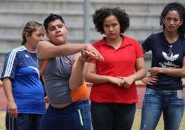 Atletas con parálisis cerebral buscan un lugar en los Parapanamericanos